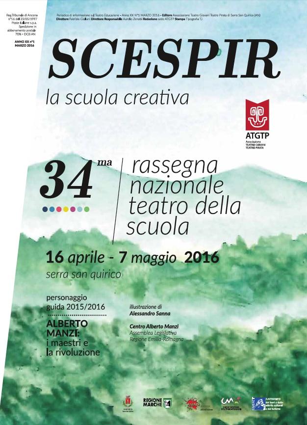 SCESPIR COPERTINA RNTS2016