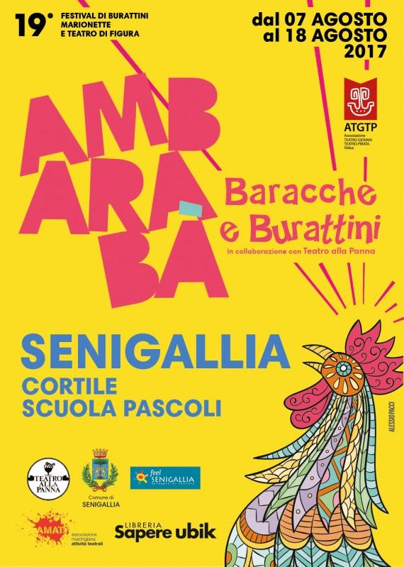 AMBARABA' BARACCHE E BURATTINI Senigallia 7-18 AGOSTO