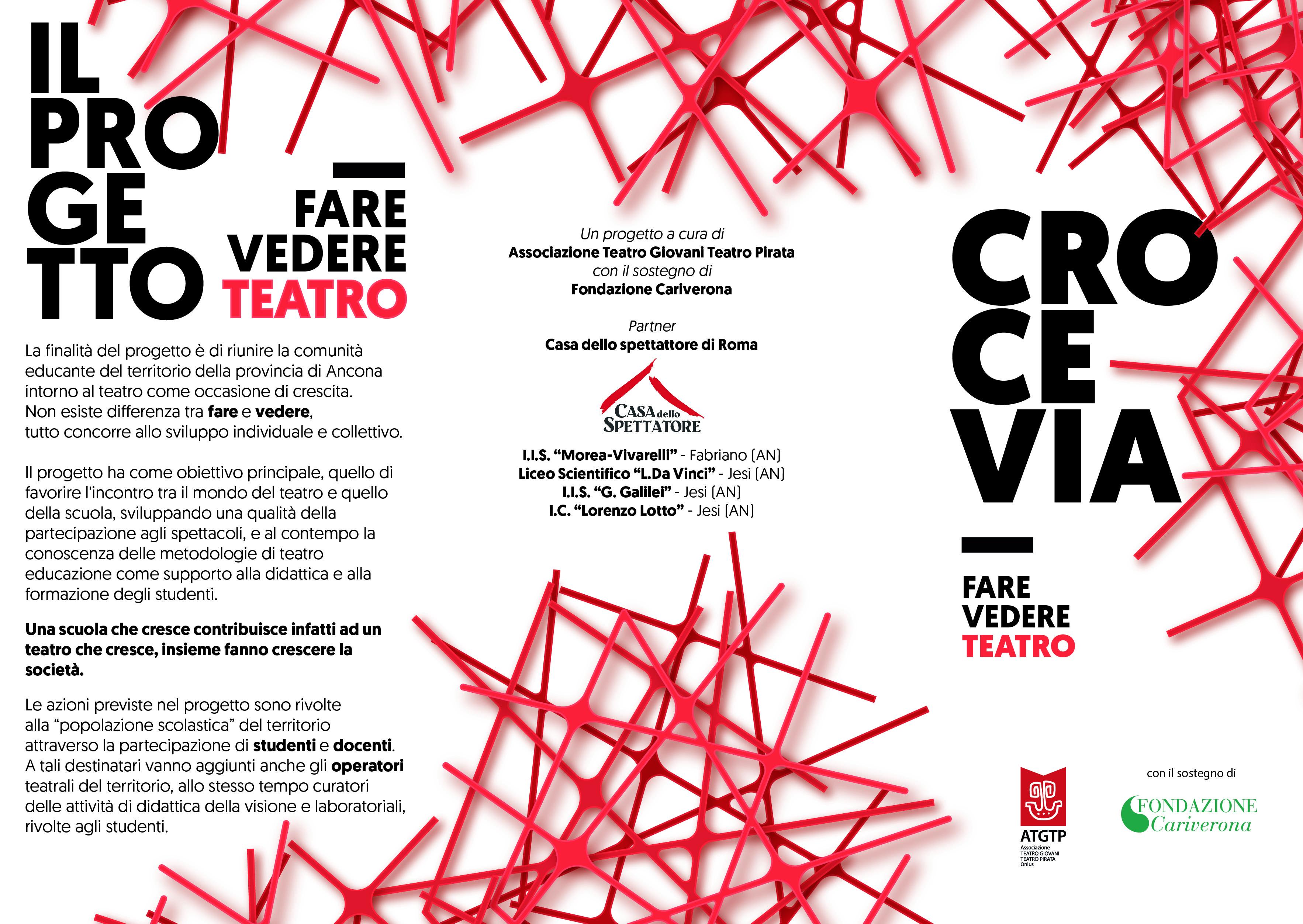 ATGTP » Progetto CROCEVIA FARE VEDERE TEATRO