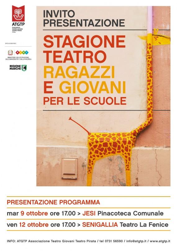 Presentazione 35^Stagione Teatrale Riservata agli Istituti Comprensivi