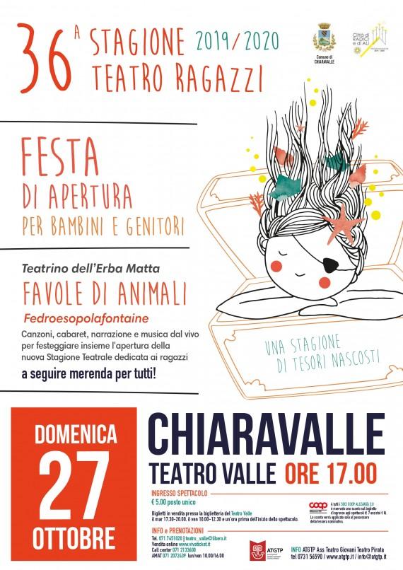 Festa di Apertura 36^Stagione Teatro Ragazzi