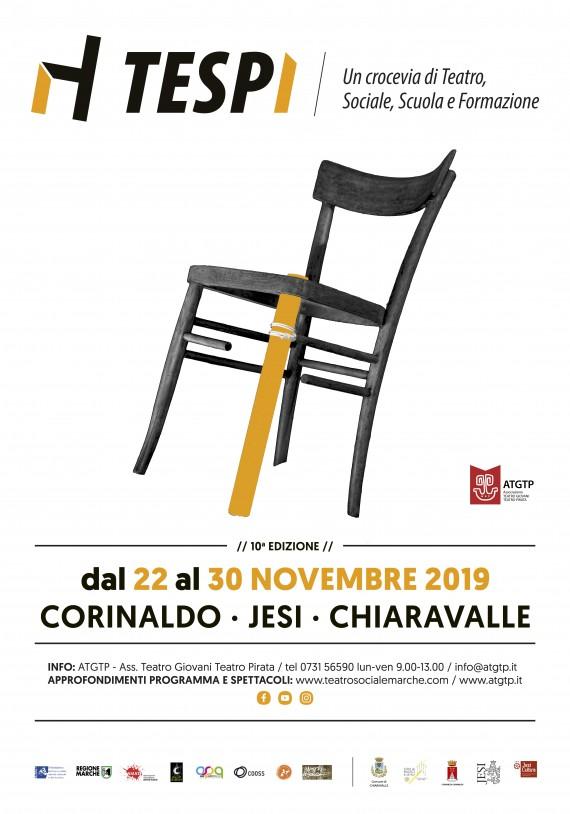 Festival TESPI dal 22 al 30 novembre Corinaldo/Jesi/Chiaravalle