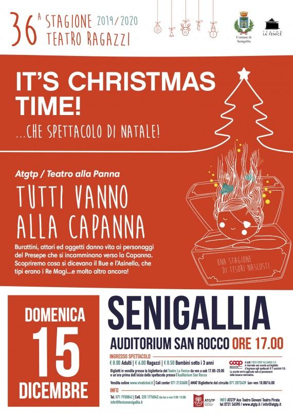 TUTTI VANNO ALLA CAPANNA > Dom 15 dicembre SENIGALLIA